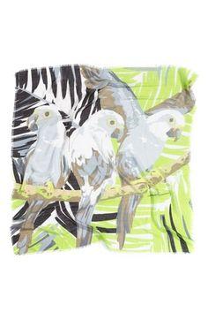 Echo 'Perched Parrots' Scarf $38.00