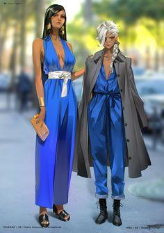Overwatch street snap - pharah and ana