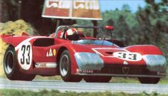 Rolf Stommelen (pictured) / Nanni Galli, #33 Alfa Romeo T33/3 (Autodelta S.p.a.), 12 Hours Sebring 1971 (2nd)