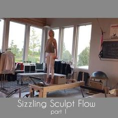 "460 Likes, 18 Comments - Tiffany Crosswhite Burke (@poiseandstrengthpilates) on Instagram: ""This week's flow is the ""Sizzling Sculpt Flow"". Adding hand weights really takes these Lunges up a…"""