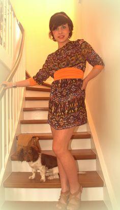 Kleidchen für den Sommer - man hätte es auch 5 cm länger machen können - aber da hat der Stoff nicht mehr gereicht :P - van´mir