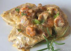 Polędwiczki wieprzowe z kurkami w śmietanowo-ziołowym sosie