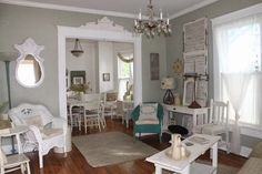This historic cottage has been re-purposed as an event venue. You'll love every detail inside.
