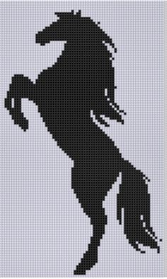 Mother Bee Designs: Horse 16 Cross Stitch Pattern