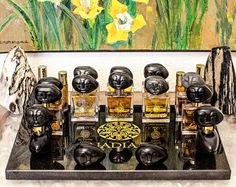 Over the past decade, Zimbabwe Shona sculpture has become one of the most collected form of African art.  NadiaZ supports African Sculptors by working directly with them to develop specially designed products and being an ambassador for their Art. Using hand-crafted Shona stonework as part of the NadiaZ perfume range incorporates the uniqueness of man-made sculpture, creating a sense of playfulness for the collector, and bringing Perfume to the world of Art.