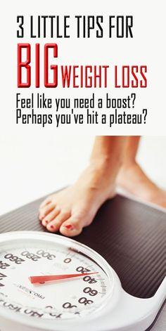 3 little tips for big weight loss. #weightloss #loseweight #fatburn #bellyfat #weightlossbeforeandafter
