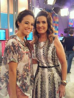 Fátima  e Mia