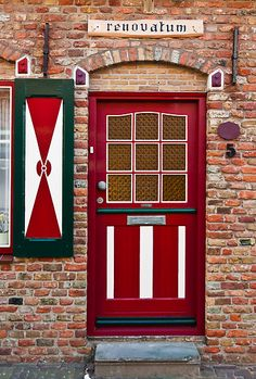 Zoutelande, Netherlands Door