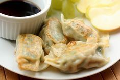 Potstickers, or, How to Use Up Green Things