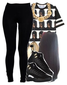 """""""black&gold✨"""" by jchristina ❤ liked on Polyvore featuring interior, interiors, interior design, home, home decor, interior decorating, VFiles, Versace, STELLA McCARTNEY and Boohoo"""