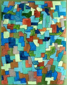 "Saatchi Art Artist Tron Kittelsen; Drawing, ""Africa"" #art"