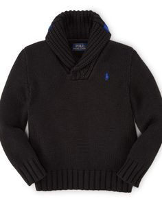 Cotton-Wool Shawl Sweater - Boys 2-7 Sweaters - RalphLauren.com