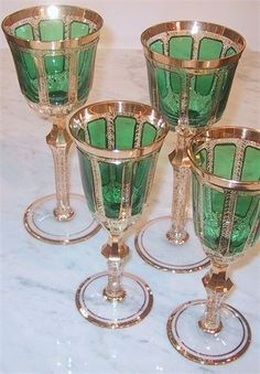 Moser Crystal Glasses