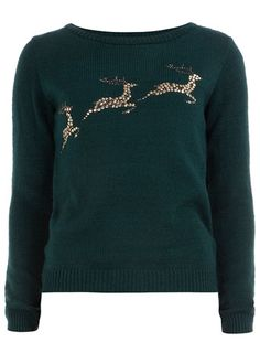 Aw this would have been a good sweater for December!! Next Year :)