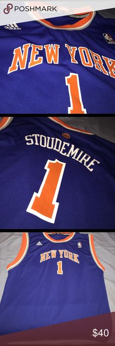 Adidas New York Knicks Basketball Jersey 🔥 Got this when Amare Stoudemire was BEASTIN' in MSG when he first came on the New York Knicks. Worn once, no stains or anything. Like new. MAKE AN OFFER 🔥 Adidas Other