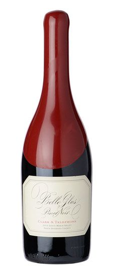 "2012 Belle Glos ""Clark & Telephone"" Santa Maria Valley Pinot Noir//Great Pinot moderately priced. L.C."