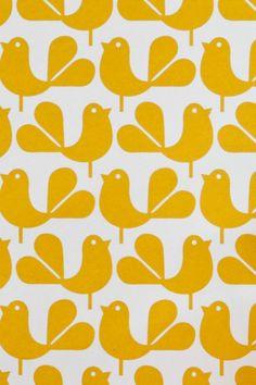 wandgestaltung ideen mit tapeten gelb tapetenmuster