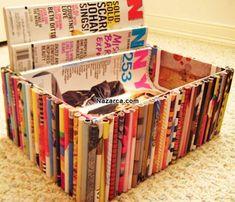 Kendin Yap Karton Kutu Süsleme Yine işe yarar ve güzel bir Geri Dönüşüm Gazete Kağıdı ve Karton Mukavva Kutudan Depolama işimizi Dekoratif olarak görecek Ev Mobilyası Kap Yapılışı ile beraberiz. Resimler ile adım,adım hiç zorlanmadan her kes yapabilir bu güzel Saklama barındırma kutu Dekorasyonu nu. Çocuk odalarına Oyuncak,Çamaşır,Okul Malzemeleri,Kitapları,Özel eşyalarınızı koyabileceğiniz Kendin Yap geri dönüşüm çalışması istiyorsanız tam sizlik. Hem Dekoratif bir kutu olduğu için kilere…