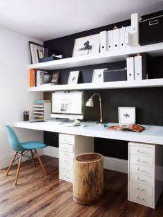 ห้องทำงาน/อ่านหนังสือ by decoraCCion