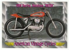American Vintage Cycles Series I # 20 - 1968 Harley-Davidson XR 750 - Champ 1992