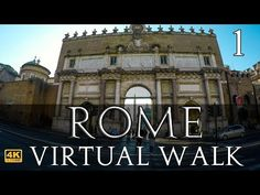 Walk the beautiful streets of Rome in See the sites and hear the sounds on a sunny October day. This walk starts at the gate to the Piazza del Popolo and. Rome Vacation, Vacation Trips, Vacation Spots, Rome Travel, Travel Tours, Virtual Travel, Virtual Tour, Best Treadmill Workout, Steps Youtube
