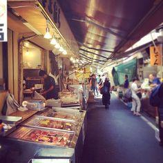 東京, 東京都 の 築地市場 (Tsukiji Market)