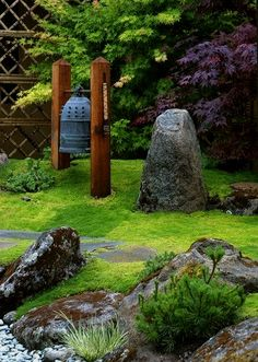 grace design associates asian garden santa barbara by margie grace grace design associates Asian Garden, Modern Japanese Garden, Japanese Maple, Japanese Gardens, Chinese Garden, Asian Landscape, Landscape Design, Japanese Landscape, Moss Garden
