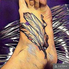 #feathertattoo #mywork #colortattoo #tattoo #tattooedup
