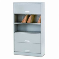 "HON(tm) 625LQ - 600 Series 5-Shelf Steel Receding Door File, Ltr, 36w x 13-3/4d x 75-7/8h, Gray by dealz4real. $730.99. HONreg 600 Series shelf file. Great for critical files with frequent retrieval. Fixed Shelves-Doors recede on nylon glides. One Key"" interchangeable core removable lock control all openings. File Shelf/Component Type: File Shelf Unit; Global Product Type: File Shelves/Components; Color(s): Light Gray; Number of Shelves: 5."""