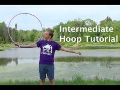 Intermediate Hoop Dance Tutorial: The LeandROLL - with Benjamin Berry - YouTube