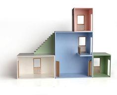 Tiffinbox Design: Modern Dollhouse from Hase Weiss