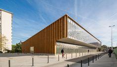 Halle de marché, Cachan, croixmariebourdon architectures - Realisation