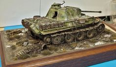 Completed panther g 121 hungary 1945 - planetArmor