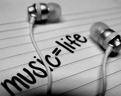 Beautiful, Life, Love, Music quote