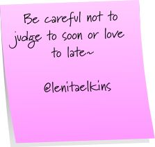 #inmymind, #judgement, #love