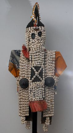 Fulani Maiden Mask Costume - Dogon, Mali