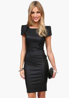 Love this little black dress.