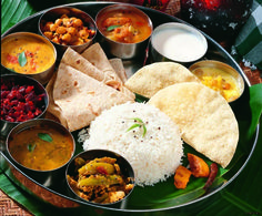 South Indian Meal - Best dish in the world (no dead animals)