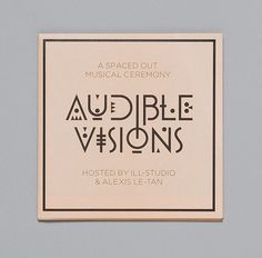 audible visions