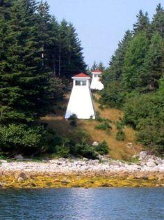 Kaulbach Island Range Front Light, Nova Scotia, Canada