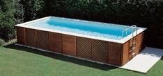 Výsledek obrázku pro copertura piscina fuori terra Plunge Pool, Pool Designs, Outdoor Furniture, Outdoor Decor, Building Design, Teak, Pools, Home Decor, Creativity