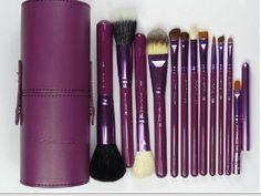 Professional Makeup MAC Brush Set 12 pcs Kit / Leather Cup Holder Case Purple color Makeup Brush Set 12 pcs Kit,http://www.amazon.com/dp/B00D7EK91G/ref=cm_sw_r_pi_dp_n47xtb0YTXRKDMWF