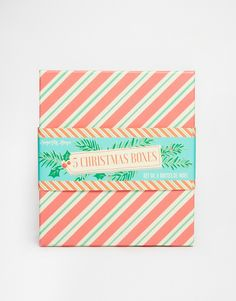 Temerity Jones Candy Stripe Boxes Set of 5