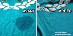 L'Astuce Magique Pour Enlever une Tache de Gras sur un Vêtement.