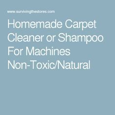 Diy carpet cleaner for a machine 1 gallon hot water 12 cup homemade carpet cleaner or shampoo for machines non toxicnatural solutioingenieria Choice Image