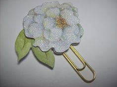 Handmade Flower Paperclip Page Marker and Planner Decoration Etsy ASprinkleOfLovely