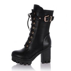 Fashion boots lace-up graceful shoes for women Z-LGN-C368 - Bingo E-commerce