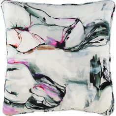 """Style Furnishings"" White Scenic Cushion 55x55cm - TK Maxx"