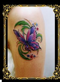 Butterfly Tattoo Designs - Different types of butterfly tattoo designs and how to choose the right butterfly tattoos