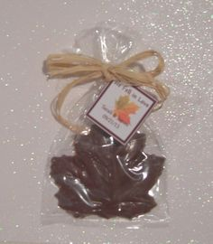 Fall Wedding Favor Sample by idofavors on Etsy